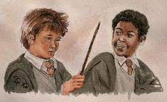 Dean Thomas Harry Potter, Harry Potter Ships, Harry Potter Cast, Harry Potter Fan Art, Harry Potter Characters, Harry Potter Memes, Seamus And Dean, Humanized Disney, Harry Potter Couples