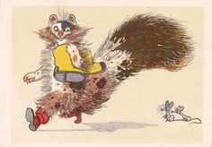 Postcard Illustration by A. Golubev From the by RussianSoulVintage