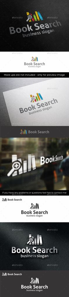Books Finding – Learn & Education Study Logo – books with magnifying glass. – simple, minimalistic, colorful and unique logo, suitable for publisher, ebook, library, book shop, book store, programming books, book software, education, web books, learning center, study group, software developers, e-books, e-book device, internet encyclopedias, blogs, non profit organizations, sites publications logo and related companies.