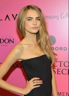 Cara Delevingne | Victoria's Secret Fashion Show 2012 Red Carpet