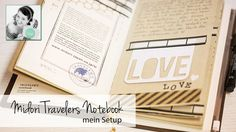 【Midori Travellers Notebook】 Setup (deutsch/german)