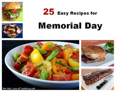 Parade's Community Table ~ 25 Easy Recipes Sure to Make your Memorial Day Delicious!
