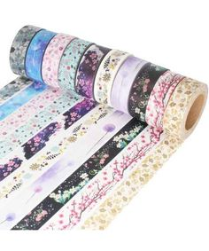 10 Floral Washi Tapes $24,82
