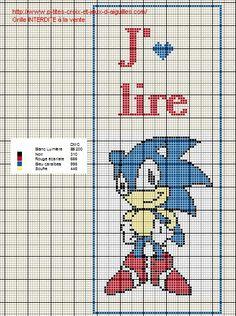 Voici des marque page en grille gratuite point de croix