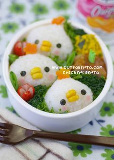 Chicks Bento Box for Kids