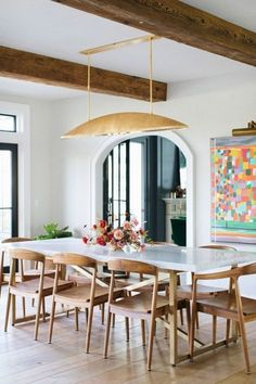 30+ Awesome Dining Room Lighting Ideas for Big Family   -  Dining Room        #Awesome #Big #Dining #Family #Ideas #Lighting #Room