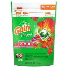 Easy-to-use Gain flings unit-dose laundry detergent brings more*Everything you love about Gain is even betterand smallerwith the most Gain scent, the stain-fighting power of Oxi, and the odor-fighting freshness of FebrezeGain Original scent laundry de Liquid Laundry Detergent, Island, Smell Good, Plant Based, The Help, Walmart, The Originals, Count, Alcohol