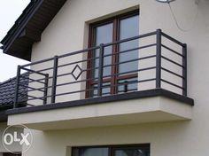 balustrada balkonowa - Szukaj w Google Terrace Grill, Balcony Grill Design, Balcony Railing Design, Window Grill Design, Terrace Design, Exterior Stair Railing, Staircase Railing Design, Modern Railing, Modern Fence Design