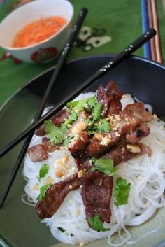 Charbroiled Pork Vermicelli (Bun Thit Nuong)...#15 here I come! This is what I miss about High River :)