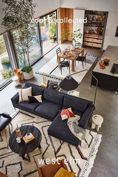 Clean-lined Scandinavian-inspired designs and handcrafted artisan accents define this look. Make room for what you love. Coastal Living Rooms, Living Spaces, Home Upgrades, 3d Prints, Interior Design Living Room, Living Room Designs, Great Rooms, Home Projects, Family Room