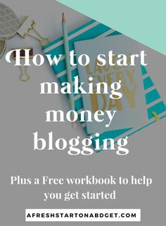 As a blogger you may want to start making money blogging at some point. There are many ways to make money with your blog and here are a few of those ways.