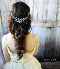 Bridal Headpiece Bridal Hair Accessories Bridal by HairFloaters