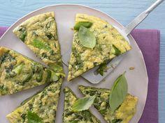 Spargel-Basilikum-Omelett
