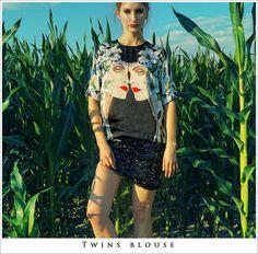 Twins Blouse  store -> www.PurPurum.com