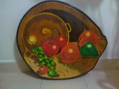 Bodegón pintado en oleo