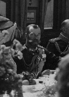"Tsar Nicholas ll of Russia in 1908.   ""AL"""