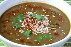 Sopa de porotos negros y calabaza - Kiako, the cook