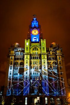 Liver building, Liverpool on the Waterfront festival