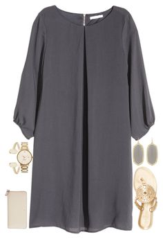 """""""Bid Day"""" by carolinaprep137 ❤ liked on Polyvore featuring H&M, Kate Spade, Kendra Scott and Jack Rogers"""