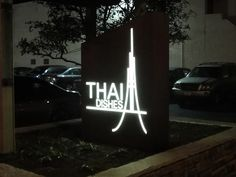 Monument Signs, Illuminated Signs, Sign Company, Pedestrian, Weather Conditions, Signage, Architecture Design, Neon Signs, Bright
