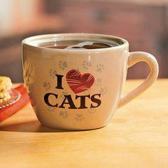 Taza - Jarro - Mug  I♥CATS