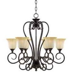 The rustic beauty of an oil rubbed bronze chandelier brings old world style to any room in your home. In the variety of styles available here,...