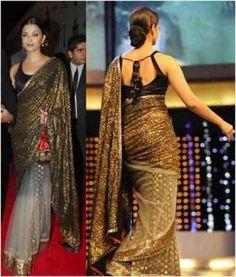 Designer Indian Bollywood Designer Net and Sequin Saree Sari Bollywood Designer Sarees, Indian Designer Sarees, Bollywood Saree, Indian Bollywood, Indian Designer Wear, Bollywood Fashion, Indian Sarees, Indian Designers, Fashion Designers