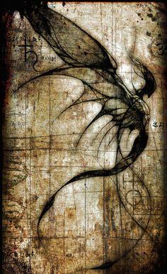 """Älva""  Dark faerie-like creature."