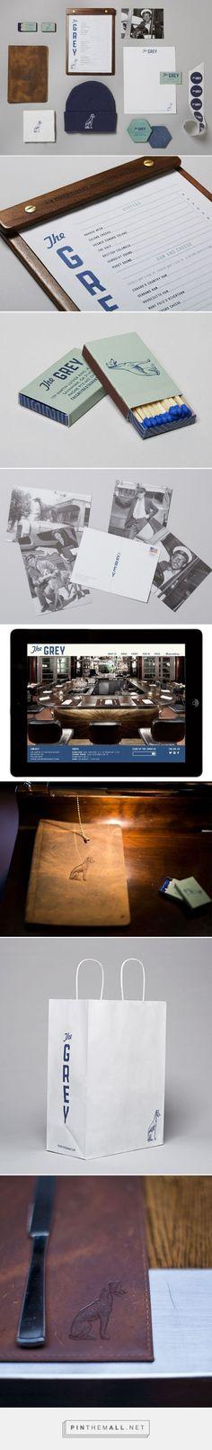 The Grey Restaurant Branding by LMNOP Creative   Fivestar Branding – Design and Branding Agency & Inspiration Gallery   #BrandingInspiration