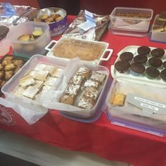 Well done team for selling 145 cakes!