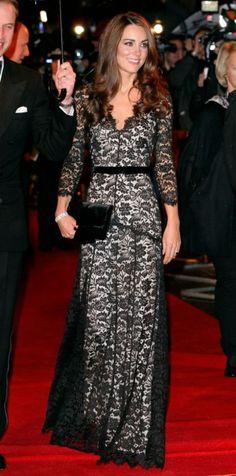 Kate Middleton wearing Alice Temperley.