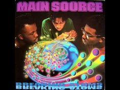 Main Source - Looking At The Front Door  Hip Hop. Old School Hip Hop. Underground Hip Hop. Artist. Rap. Real Music. Album Cover. Track. Rhyme. Beats. DJ. MC