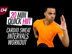 20 Min. Interval Cardio Sweat Workout | 20 Min. Quick HIIT #04 - YouTube