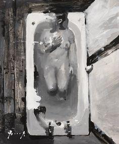 R.L in bath tub - Christian Hook