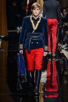 Olivier Rousteing presented his Fall/Winter 2016 collection for Balmain during Paris Fashion Week.