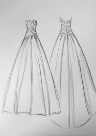 Image result for sketches of dresses