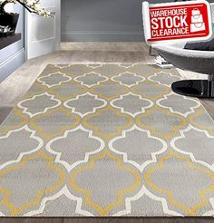 This beautiful rug is unique, stylish and ready to accent your decor with authentic elegance. This rug features bold colors and #modern design. Jute backing, rug...