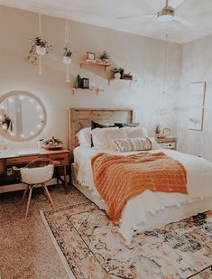 Cute Bedroom Ideas, Room Ideas Bedroom, Bedroom Inspo, Bed Room, Small Bedroom Ideas For Women, Bedroom Inspiration Cozy, Bedroom Pics, Tumblr Bedroom, Bedroom Images