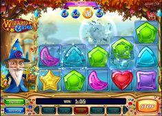 Výherné automaty Wizard of Gems - Veríš na kúzla? Čarodejník v novom výhernom automate Wizard of Gems vám dokáže pričarovať skutočne skvelé výhry. #vyherneautomaty #hracieautomaty #automaty #WizardofGems #Wizard #Gems #jackpot
