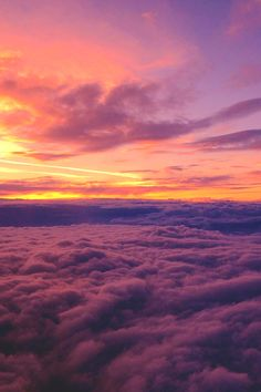 "lsleofskye: ""Sunset Above The Clouds """