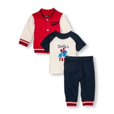 The Childrens Place - A complete varsity set for your little jock!