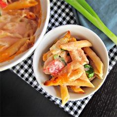 Six Cheese Penne Rigate Pasta
