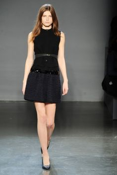 New York Fashion Week: Victoria, Victoria Beckham Fall 2013 / Photo by Anthea Simms
