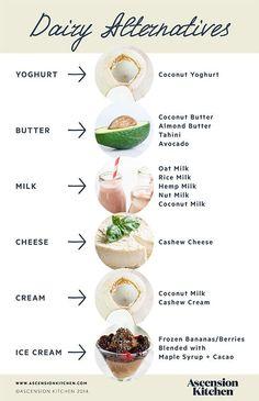 Dairy Alternatives | vegan alternatives | dairy free | vegan living