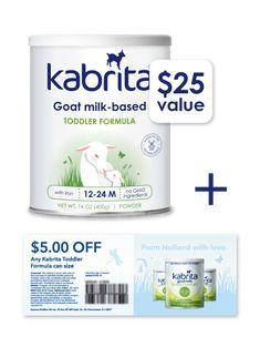 Kabrita Goat Milk Formula. ...