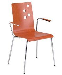 Krzesło kawiarniane Ammi - Nowy Styl | DB Meble #ammi #krzesla  http://dbmeble.pl/produkty/ammi-krzeslo-kawiarniane/