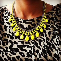 Hmm. I like this necklace style but nowadays everybody has it so it looks cheap for me Sorry.