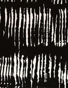 Slideshow: See works by Pierre Soulages on view at the French Academy Black And White Abstract, Black And White Design, Abstract Pattern, Abstract Art, Art Blanc, Art Quiz, Georges Pompidou, Robert Motherwell, Art Moderne