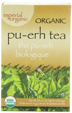 Imperial Organic Tea PuErh 18 Tea Bags Pack of 4 ** Check out this great product. Note: It's an affiliate link to Amazon.