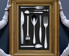 Bring a masterpiece to your table Alessi Cutlery, Flatware Set, Metal News, Table, Tables, Desk, Tabletop, Cutlery Set, Desks